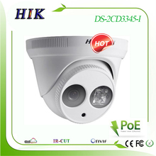 Hik  3MP  H.265 DS-2CD3335-I Network POE IP Camera Replace DS-2CD2332-I Multi language cctv video surveillance system