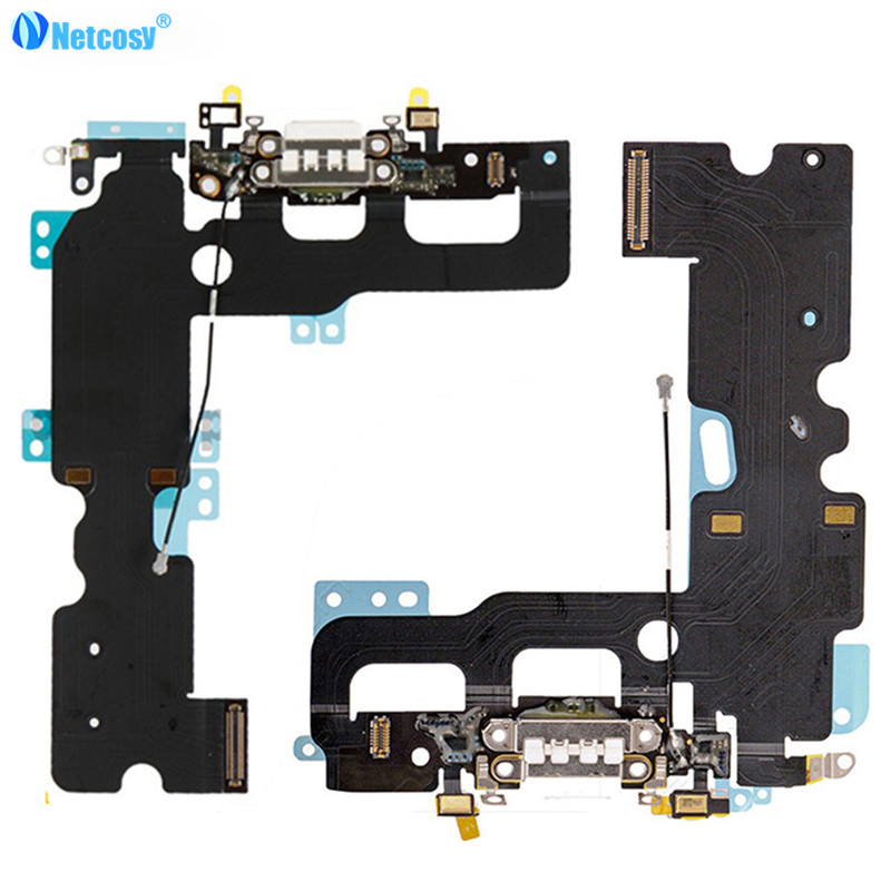 Netcosy USB Charger Charging Connector Dock Port Flex Cable Replacement for iPhone7 For  ...