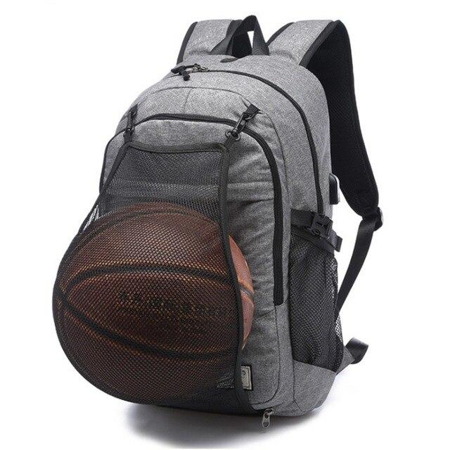 f6105c0c8f672 Sac à dos de basket-ball multifonction homme sac de sport sac de sport 15.6