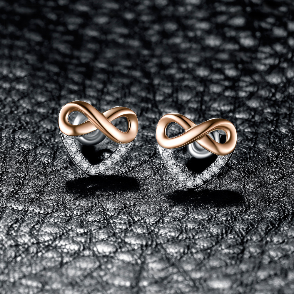 f039c49e964a JewelryPalace Infinity Heart Cubic Zirconia Stud Earrings 925 Sterling  Silver Gifts For Her Anniversary Fashion Jewelry New-in Earrings from  Jewelry ...