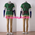 High Quality Cosplay Skyward Sword Green Link Cosplay Costume From The Legend of Zelda Cosplay Costumes
