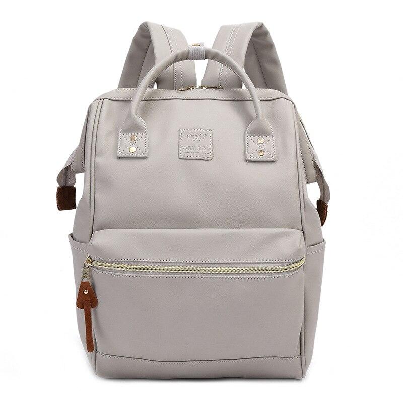 2017 Women Shoulder Bag PU Leather Schoolbag Large Capacity Travel Bag Leisure School Bag for Girls