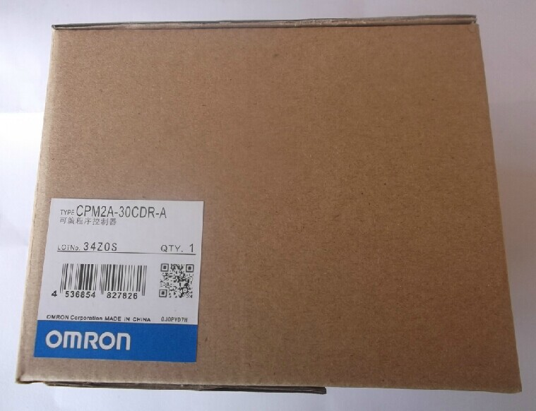 OMRON CPM2A-30CDR-A  New and original  Relay output  PLC controller dhl ems 1pc c40p cdr a plate used original for omron plc io board