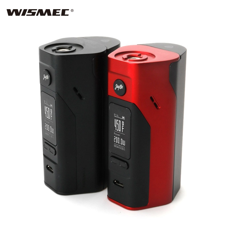 100% Original Wismec Reuleaux RX 2/3 18650 Mod boîte rx2/3 vape boîte e-cigarette cigarette electronique 150 w-200 w batterie boîte MOD