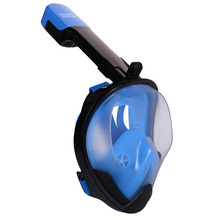 SMACO Original Snorkel Mask Full Face Scuba Diving Mask 180 Degree View Snorkeling Goggle Dry Top Set  Anti-fog For Kids Adults цены онлайн