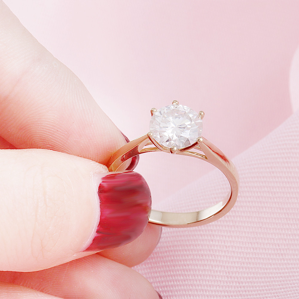 moissanite emgagement ring (6)