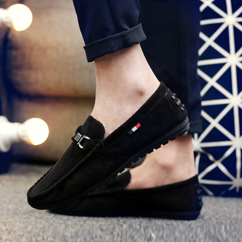 Brand Fashion Summer Style Soft Moccasins Men Loafers High Quality Genuine Leather Shoes Men Flats Gommino Driving Shoes39-48