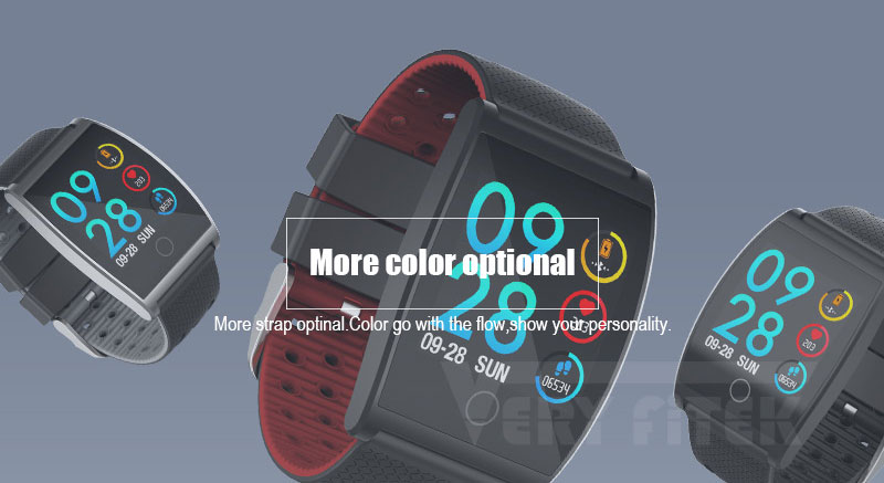 VERYFiTEK QS05 Smart Bracelet Watch Blood Pressure Oxygen Smart Band Heart Rate Monitor Wristband Pedometer Fitness Bracelets  (12)
