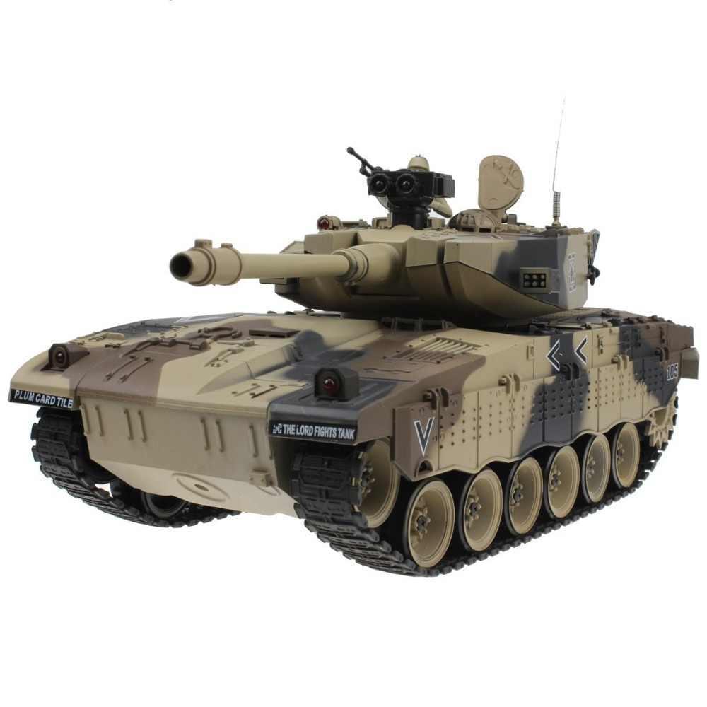 Air Israel Merkava Kendaraan Taktis Utama Pertempuran Militer Tank Model Suara Recoil Elektronik Hobi Mainan