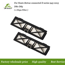 2-PACK Ultra preformance Hepa Filter for Neato Botvac connected D series 945-0215 D80 D85 Vacuum Accessory parts