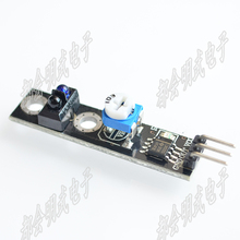 channel tracing module Intelligent Vehicle tracking probe infrared black white line detection sensor for arduino