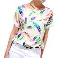 Tamaño grande Blusa XXXXL 6XL Plus Mujeres Tops Ropa Barata China Cuerpo Femenino Blusa Feminina Camisas Casual de Las Señoras Blusa de Verano Tops