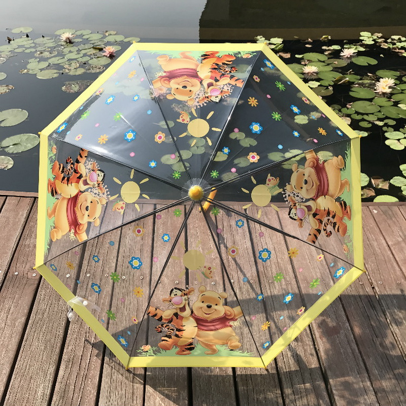 Park Animal Cartoon Patterns Umbrellas Kids Boys Girls Umbrellla For Children Paraguas Parasol Fashion Umbrella
