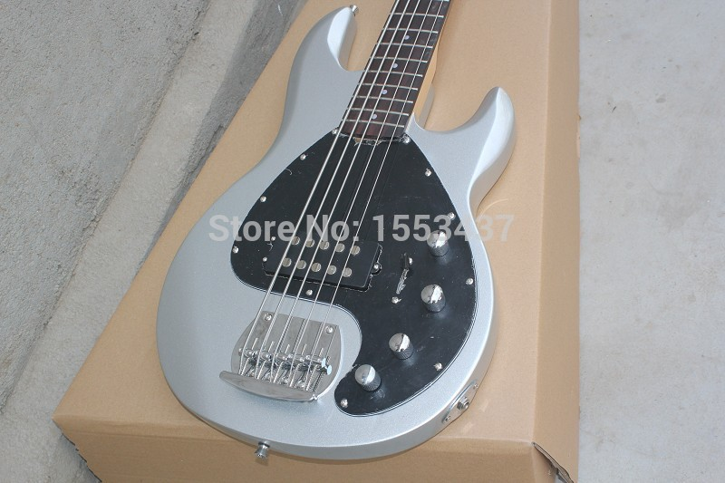 Wholesale musicman bass music man stingRay 5 electric bass guitar 9 V Battery active pickups initiative to pickup hott3