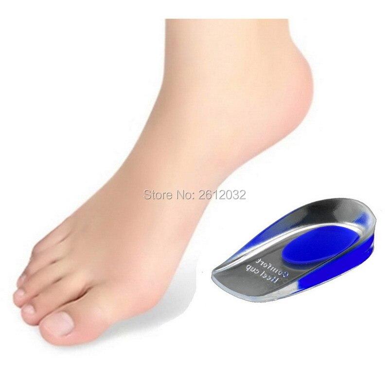 Visokokvalitetni silikonski gelovi Visokih uložaka za cipele PU Comfort Heel Cup Heel Pad Čašica za stopala za muškarce / žene Otporan na udarce