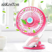 Portable USB Fan 360 Degree Clip Desk Fans Air Cooling Bulid in With 18650 Battery 3 Speeds USB Cooling Fan Clip mini ventilador