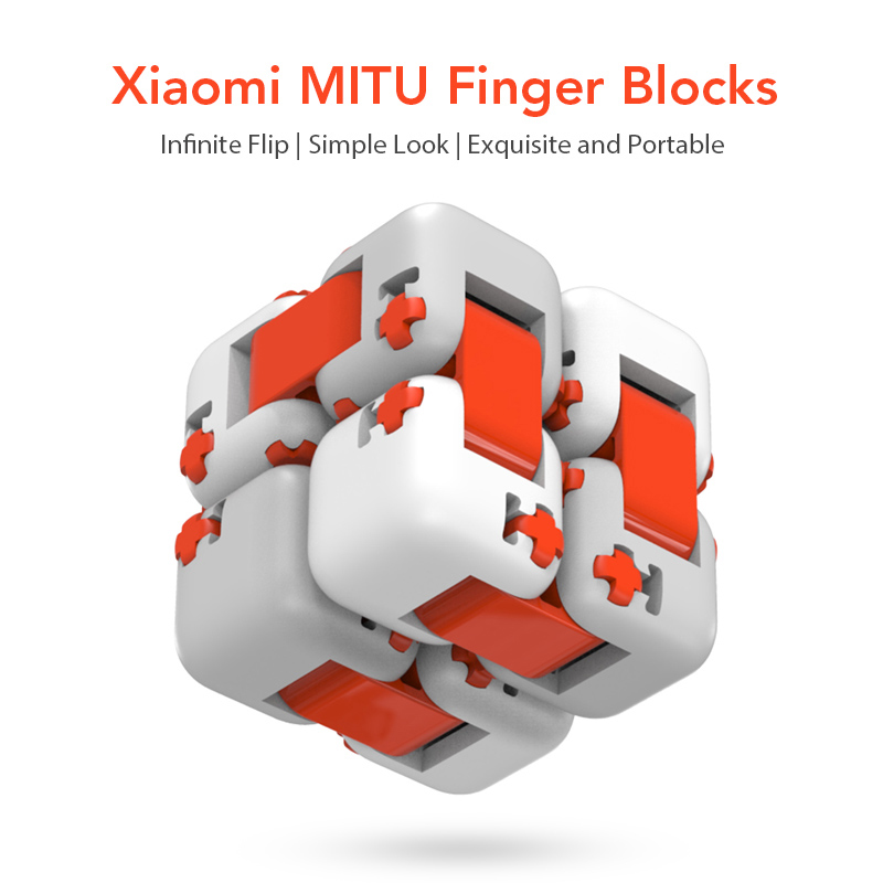 Original Xiaomi Mitu Cube Spinner Finger Bricks Portable Smart Finger Toys Intelligence Toys For Xiaomi Smart Home Gift For Kid