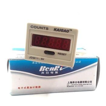 Inexpensive 2PCS Electronic Counter 5-digit Blackout Memory With Voltage Production Counting DC12V DC24V DC36V AC220V 0-99999 KG11J-5H — stackexchange