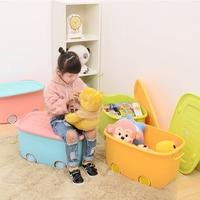 High capacity Pulley Cartoon Child Toy Storage Box Sundries Plastic Box Underwear Bra Organizer Box Clothing Plastic Container