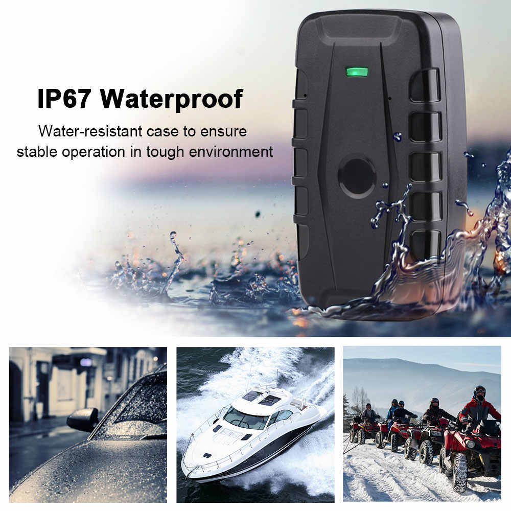 Perseguidor do GPS do carro Rastreador LK209E Ímã À Prova D' Água 6000mAh Car Tracker Queda Choque Alarme Monitor de Voz APLICATIVO Gratuito PK TKSTAR TK905
