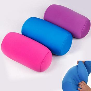 30cmx16cm Head PillowCase Micro Mini Microbead Back Cushion Pillow Roll Pillow Head Convenient Travel Pillow Bed Decoration