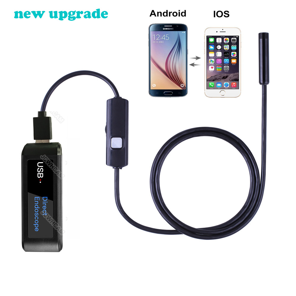 5.5mm/7mm/8mm Lens Upgraded USB Direct Endoscope Camera For All IOS Android Phones,Tablets,Macbook,Multifunction Borescope
