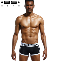 Asian Size 4 Pieces Lot New Mens Underwear Boxers Sexy Underwear Men Cotton Underpants Cueca Boxers