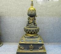 Nepal Tím Bronze red copper Thích Ca Mâu Ni Phật Tây Tạng Phật Giáo chùa tháp miễn phí vận chuyển