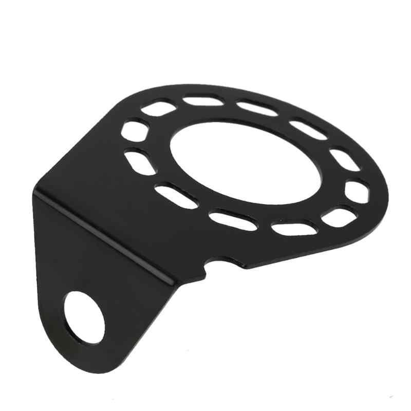 Soporte para grandes ronda 7pin 13pin remolque conector hembra de montaje de soporte de la placa soporte fijo automóviles Accesorios