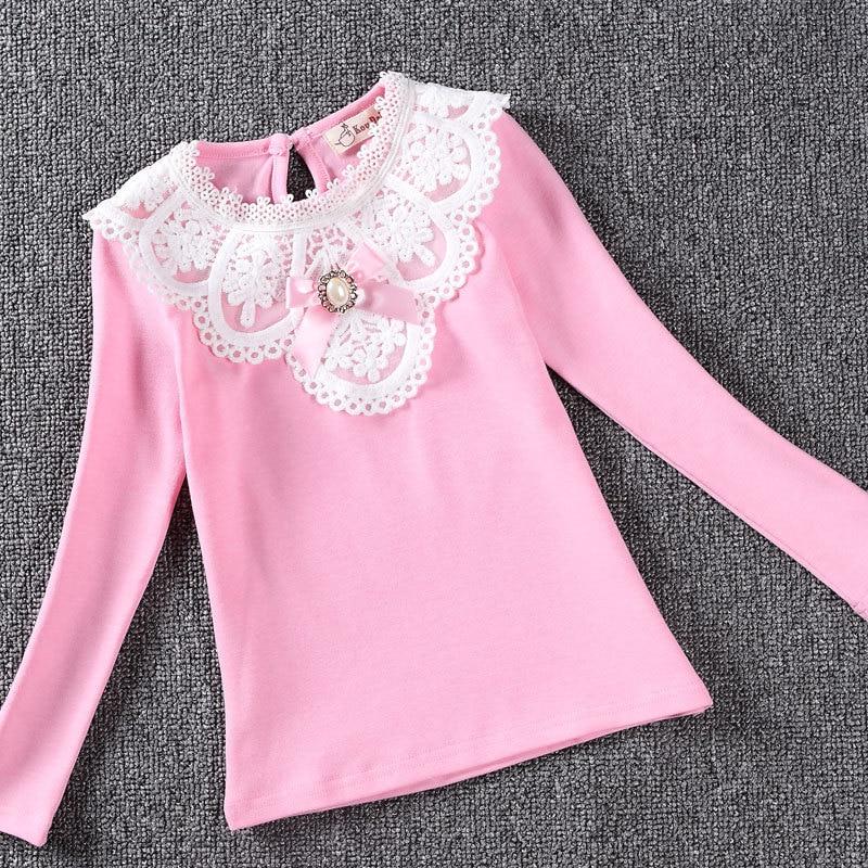 2017 tavaszi lányok blúz ingek divat új márka baba lány ruházat - Gyermekruházat - Fénykép 4