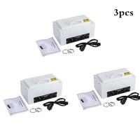1pc/2pcs/3pcs EU Plug 300W High Temperature Nail Manicure Sterilizer with Hot Air Disinfection Cabinet Nail Art Equipment HWC