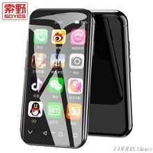 Оригинальный SOYES XS маленький смартфон 2 ГБ + 16 Android 6,0 4 г Wi Fi gps Google Play супер мини карман вспомогательный мобильный телефон