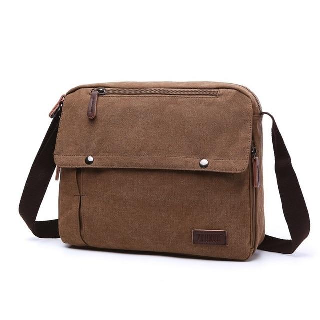 bdcfbf03dda9 M123 New Brand Multifunction Vintage Men s Messenger Bags Canvas Shoulder  Bag Fashion Men Business Crossbody Bag Travel Handbag