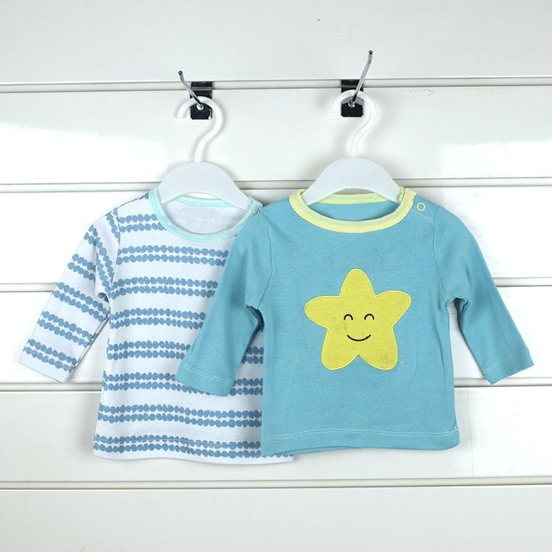 5 stks / pack unisex baby lange mouw tee katoen cartoon zuigeling - Babykleding - Foto 2