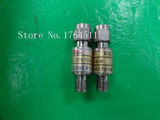 [BELLA] M/A-COM 2082-6172-06 DC-4GHz 6dB 2W RF Coaxial Fixed Attenuator SMA  --5PCS/LOT