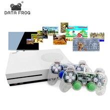 Данных лягушка HD ТВ игровых консолей 4 ГБ игровой консоли Поддержка HDMI ТВ Out встроенный 600 классические игры для GBA/SNES/SMD/ne формат