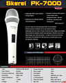 Top Quality PK7000 Professional Condenser Sound Studio Recording Wired Microphone DJ KTV Internet Karaoke Computer Recording Mic