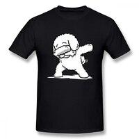 Fashion Men Funny Dabbing Bichon Frise Tee Shirt Man Summer 3D Print For Boy T Shirt For Christmas Gift