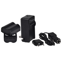 Two Battery And Charger Kit For Panasonic CGR S006 CGA S006 DMW BMA7 Lumix DMC FZ18