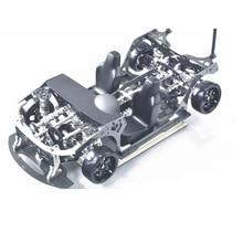 FIJON FJ9 1/10 передний двигатель дизайн RC части автомобиля дрейф рамка
