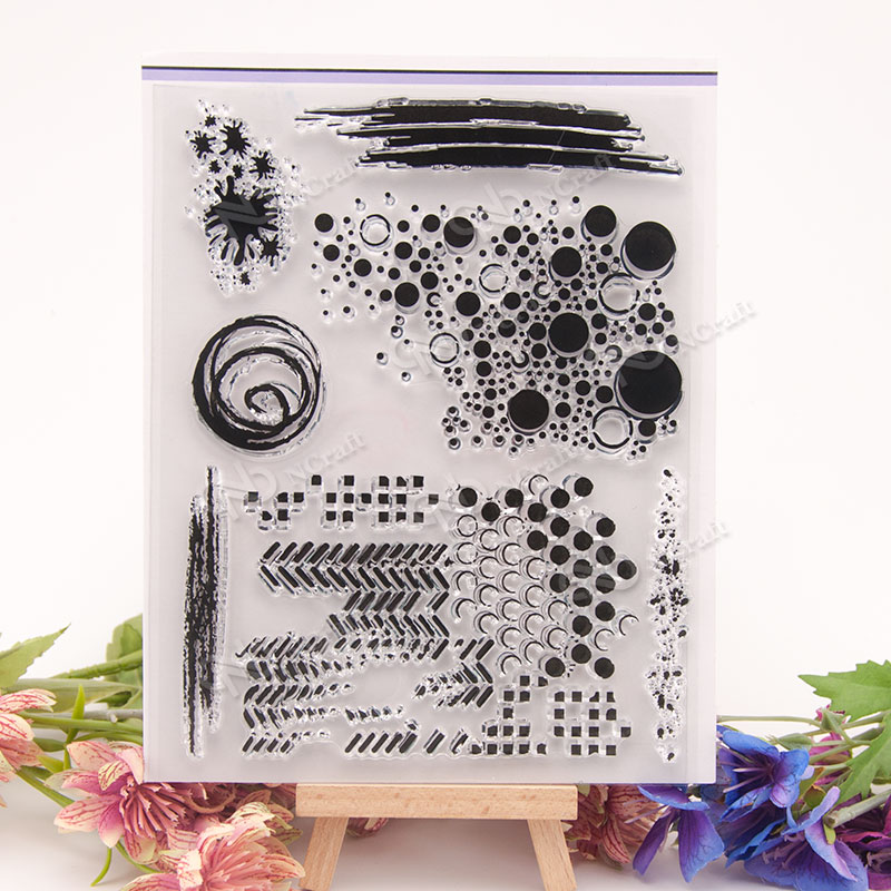 NCraft Clear Stamps N1336 Scrapbook Paper Craft Clear stamp scrapbooking