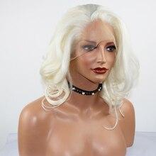 Fantasy Beauty Short White Platinum Blonde Heat Resistant Hair Blonde Synthetic
