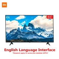 Original Xiaomi Tv 65 inches E65A Real 4K Borderless Full Screen TV Set 2GB+8GB Memory Anti Static AI Voice Control Dolby Sound