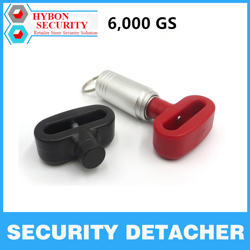 HYBON 6000gs Portable Manetic Bullet EAS Mini Magnetic EAS Tag Remover Security Detacher Key Lockpick Anti-theft EAS System