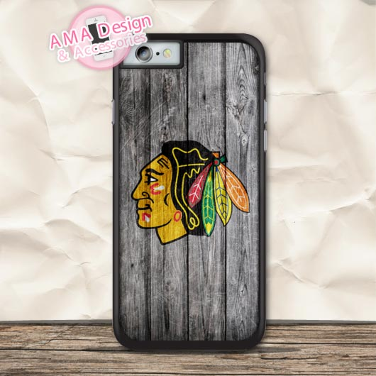 Chicago Blackhawks Ice Hockey Case For iPhone X 8 7 6 6s Plus 5 5s SE 5c 4 4s For iPod Touch