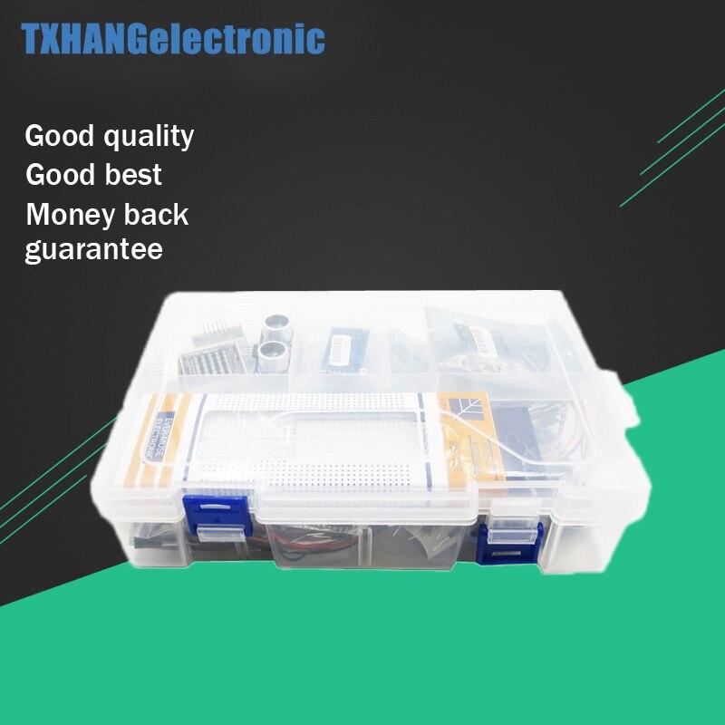 Ultime Starter Kit y compris Capteur À Ultrasons, UNO R3, LCD1602 Écran pour arduino UNO Mega2560 UNO Nano avec boîte en plastique