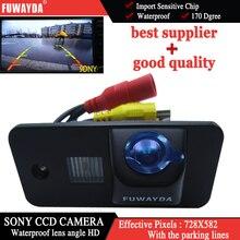 Fuwayda Sony CCD заднего вида автомобиля резервного копирования парковка зеркало изображение с Руководство Line камера для Audi A3 S3 A4 S4 A6 a6L S6 A8 S8 RS4 RS6 Q7