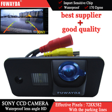FUWAYDA SONY CCD Car RearView Backup Parking Mirror Image With Guide Line CAMERA for AUDI A3 S3 A4 S4 A6 A6L S6 A8 S8 RS4 RS6 Q7