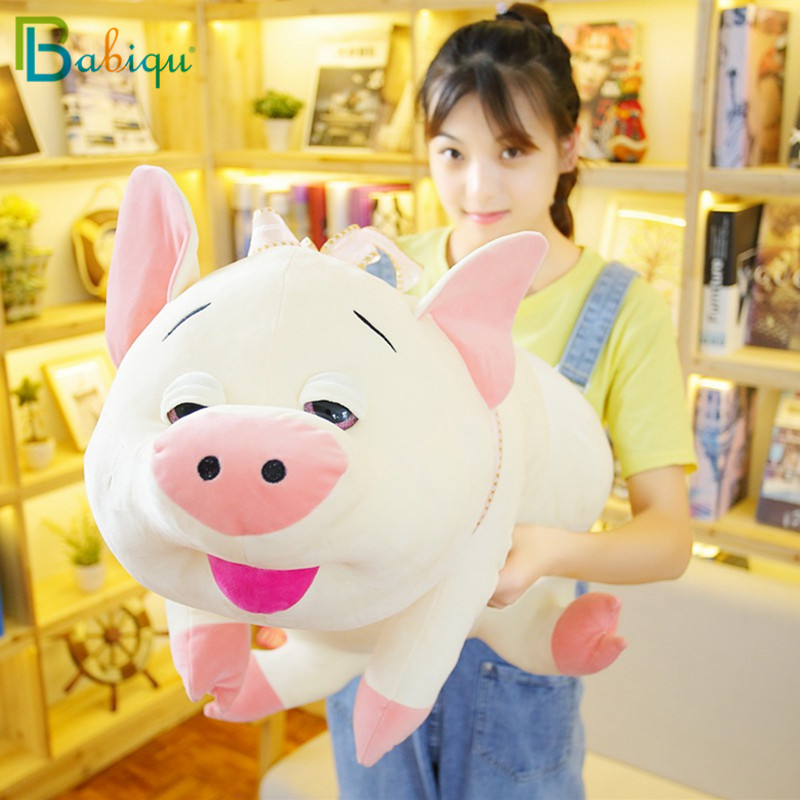 Babiqu 1pc 50cm kawaii Lazy Pig Plush toy Lovely stuffed Animal Pig Pillow lovely toys for Children Girls Birthday Xmas Gift 50cm turned out to be a handsome man pig rabbit plush toy cuddly doll animal pillow to give gifts