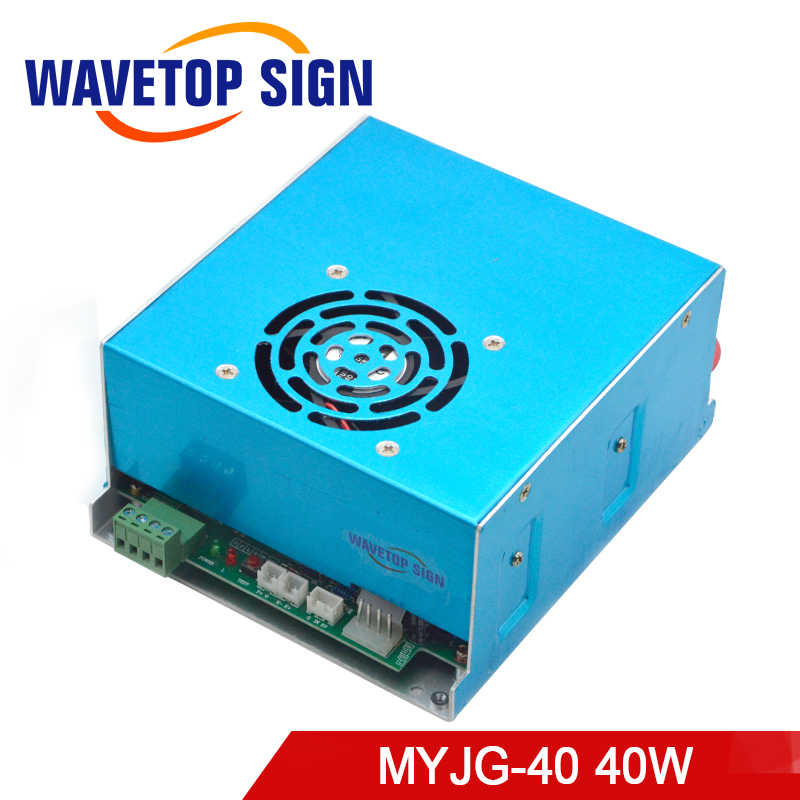 40W CO2 Laser Power Supply 30KV 20mA MYJG-40W for CO2 Laser Engraving Cutting Machine co2 laser machine laser path size 1200 600mm 1200 800mm